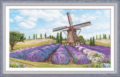 """Вышивка крестом """"Романтика ветра"""" (370х220 мм) — фото, картинка"""