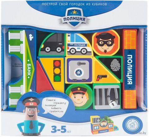 """Кубики """"Полиция"""" (12 шт.) — фото, картинка"""