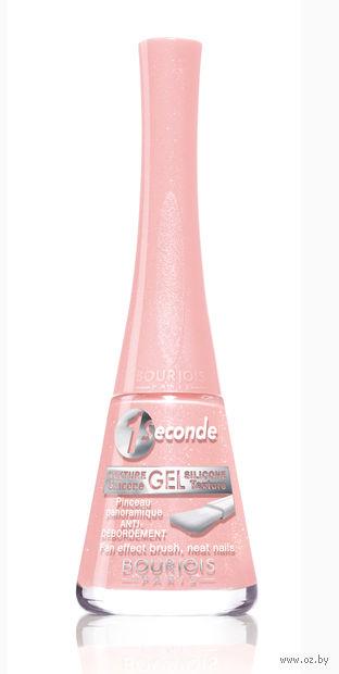 """Лак для ногтей """"1 seconde"""" (тон: 02, нежно-розовый)"""