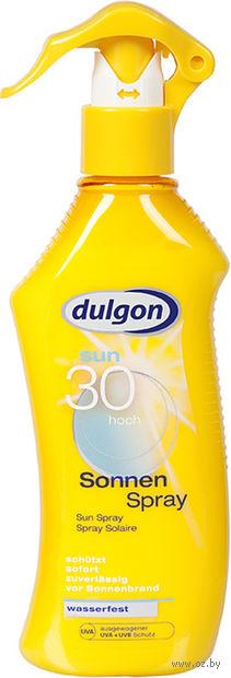 """Лосьон-спрей солнцезащитный для тела """"Dulgon"""" SPF 30 (200 мл)"""