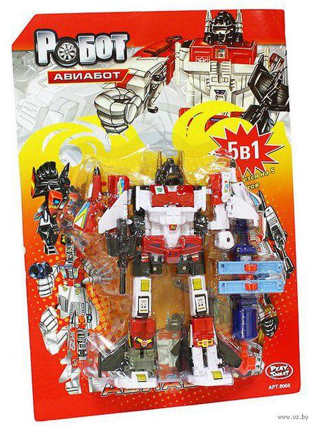 """Робот-трансформер """"Авиабот. 5 в 1"""" (арт. Л39846)"""