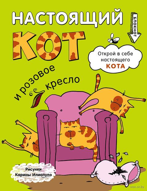 """Блокнот """"Настоящий кот и розовое кресло"""" (170х215 мм)"""