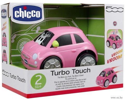 """Машинка инерционная """"Fiat turbo-touch 500"""" (розовая) — фото, картинка"""