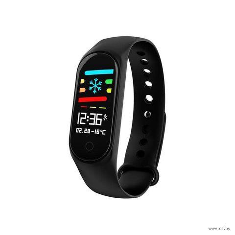 Фитнес-часы Miru GDS-M3S (черные) — фото, картинка