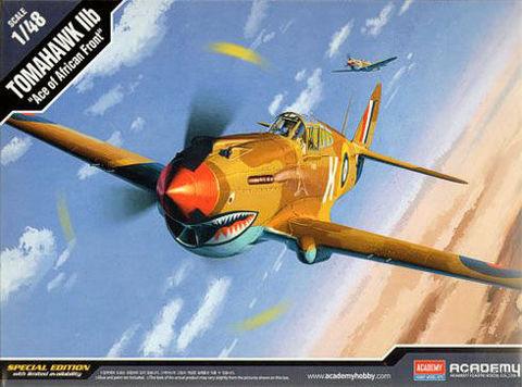 Самолет P-40C Tomahawk (масштаб: 1/48) — фото, картинка