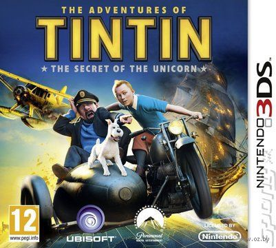 The Adventures of Tintin: The Game (Nintendo 3DS)