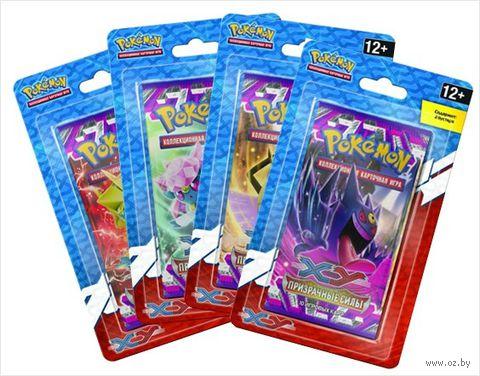 """Блистер """"Pokemon XY. Призрачные Силы"""" (2 бустера) — фото, картинка"""