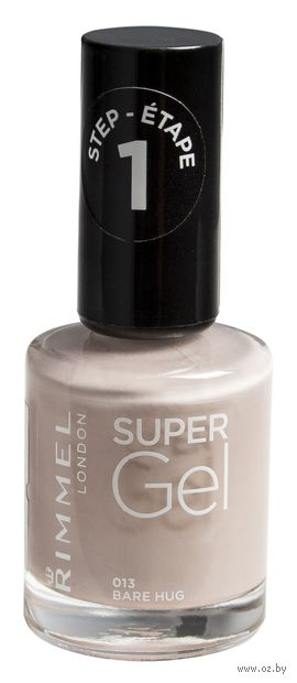 """Гель-лак для ногтей """"Super Gel"""" (тон: 013)"""
