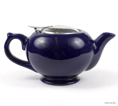 Чайник заварочный керамический с ситом (450 мл; арт. FJH10038-A18) — фото, картинка