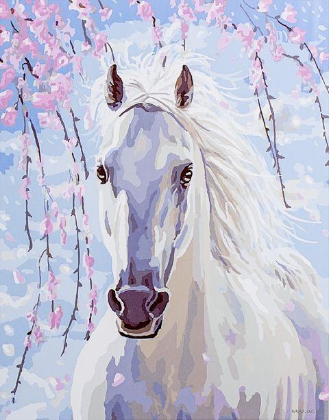 "Картина по номерам ""Белее снега"" (400х500 мм) — фото, картинка"