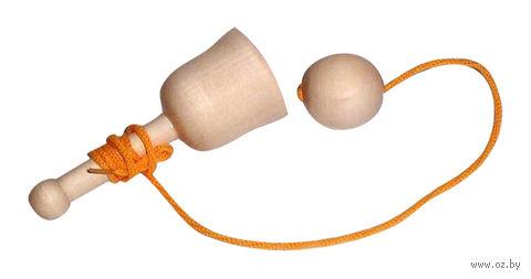 """Деревянная игрушка """"Поймай мяч"""" (арт. Д-053) — фото, картинка"""