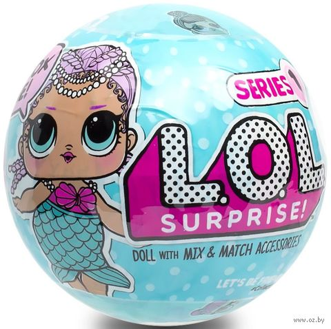"Кукла ""L.O.L. Сюрприз в шаре"" (арт. 553465X1E5C) — фото, картинка"
