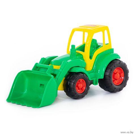 """Трактор с ковшом """"Чемпион"""" — фото, картинка"""