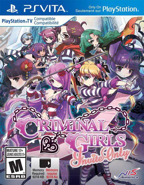 CRIMINAL GIRLS: Invite Only (PSVita)