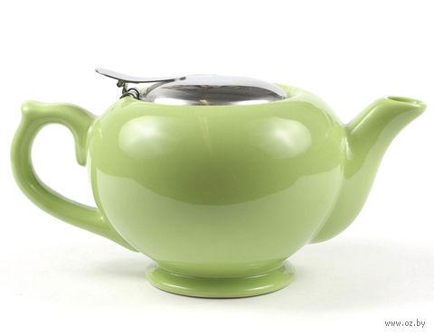 Чайник керамический с металлическим ситом (450 мл; арт. FJH10038-A155)