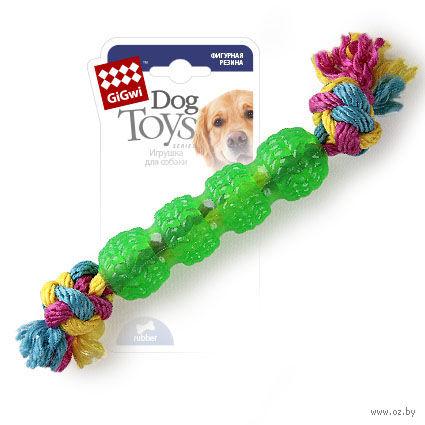 """Игрушка для собак """"Палка с веревками"""" (29 см) — фото, картинка"""
