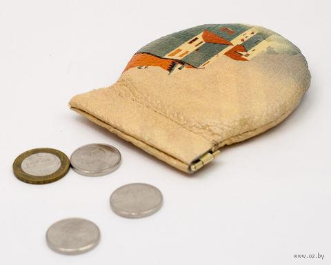 "Монетница круглая ""Замок"" — фото, картинка"