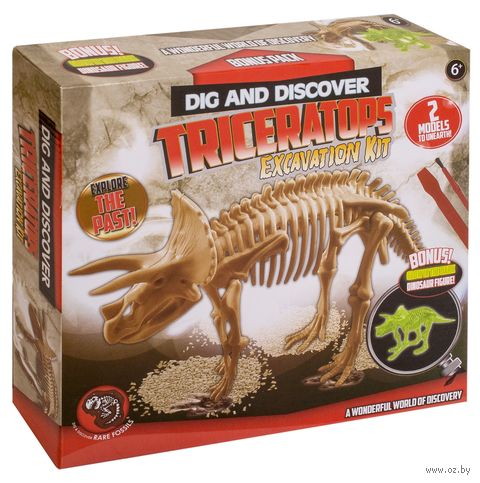 "Набор палеонтолога ""Раскопки динозавра"" (арт. DV-T-981) — фото, картинка"