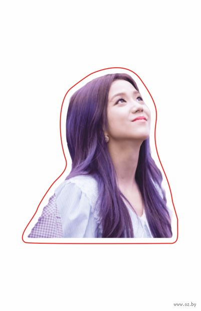 """Наклейка """"Black Pink. Jisoo"""" (арт. 8) — фото, картинка"""