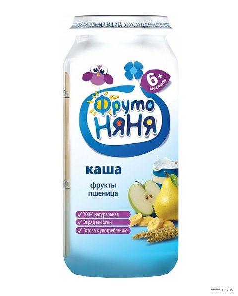 """Детская каша ФрутоНяня """"Молочная пшеничная с фруктами"""" (250 г) — фото, картинка"""
