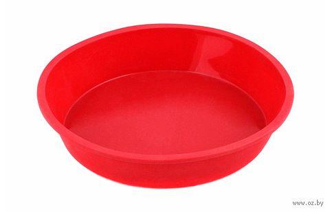 Форма для выпекания силиконовая (21х21х4 см)