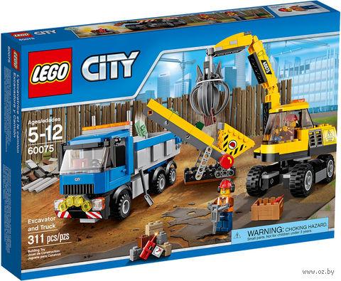 "LEGO City ""Экскаватор и грузовик"""