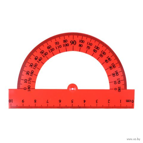 "Транспортир ""Darvish"" (180 градусов; 10 см)"