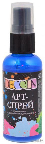 """Краска-спрей """"Decola"""" (синяя; 50 мл) — фото, картинка"""