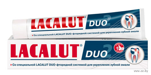 "Зубная паста ""Lacalut Duo"" (75 мл) — фото, картинка"