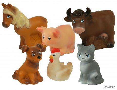 """Набор игрушек для купания """"Домашние животные"""" (6 шт.) — фото, картинка"""