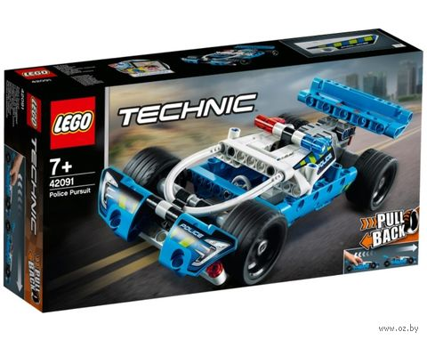 """LEGO Technic """"Полицейская погоня"""" — фото, картинка"""