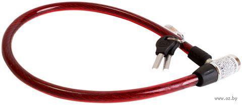 "Велозамок на ключ ""ZXC-0.65m"" (65 см) — фото, картинка"