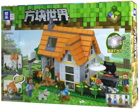 """Конструктор """"Minecraft. Летний особняк"""" (610 деталей) — фото, картинка"""