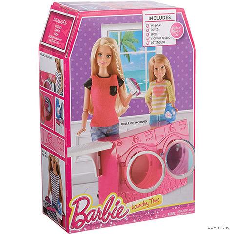 """Набор мебели для кукол """"Барби. Стиральная машина и гладильная доска"""""""