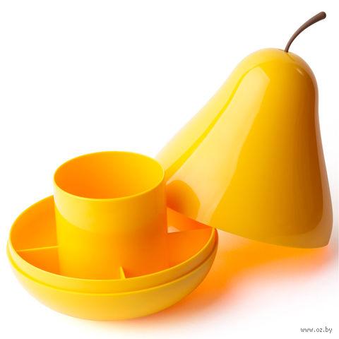 """Органайзер """"Pear"""" (желтый)"""