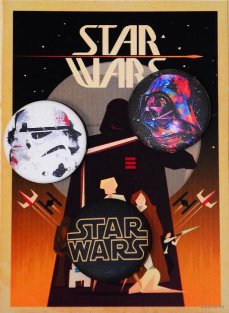 "Набор значков маленьких ""Star Wars"" (арт. 611) — фото, картинка"