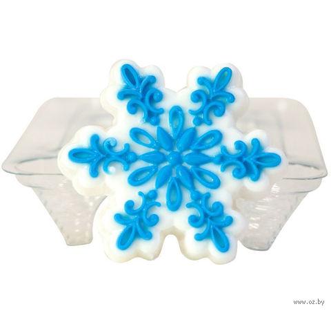 """Форма для изготовления мыла """"Снежинка ажурная"""" — фото, картинка"""