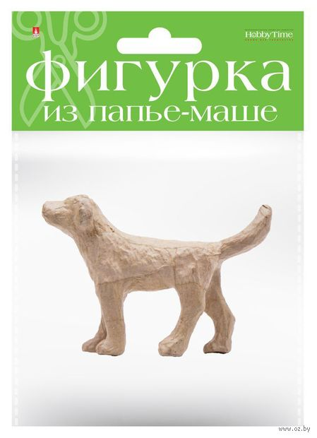 "Заготовка из папье-маше ""Собака"" (35х140х95 мм) — фото, картинка"