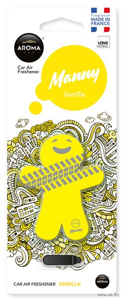 "Ароматизатор ""Manny"" (vanilla) — фото, картинка"