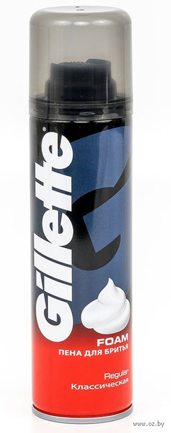 Пена для бритья Gillette Regular (200 мл)