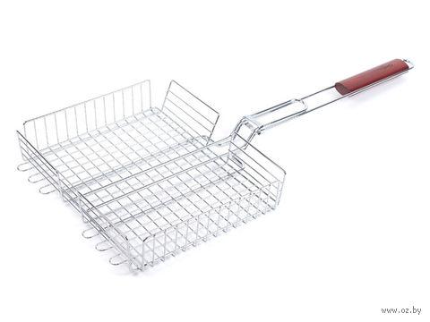 Решетка-гриль металлическая (24х31 см) — фото, картинка
