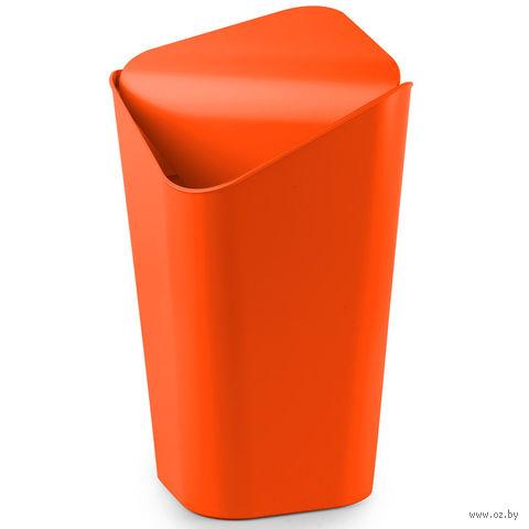 """Корзина для мусора угловая """"Corner"""" (оранжевая)"""