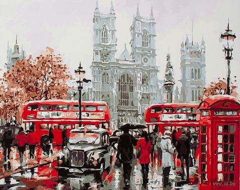 """Картина по номерам """"Будни Лондона"""" (400х500 мм) — фото, картинка"""