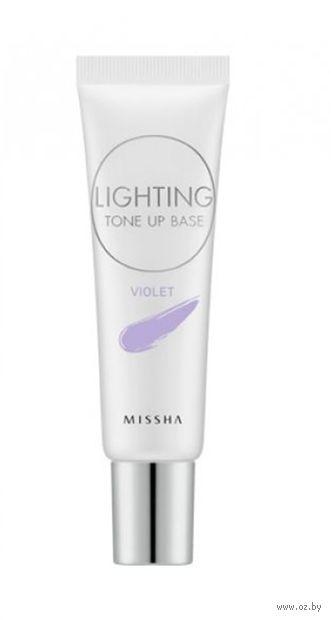 "Основа под макияж ""Base Violet"" SPF 30 тон: violet — фото, картинка"