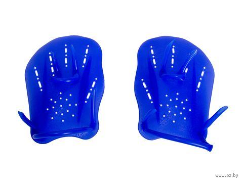 Лопатки для плавания (голубые) — фото, картинка