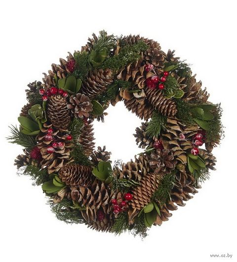 Рождественский венок (34 см) — фото, картинка