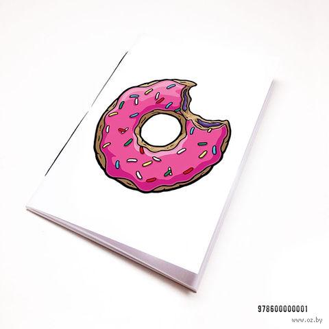 """Блокнот """"Пончик. Симпсоны"""" (А7; арт. 001) — фото, картинка"""