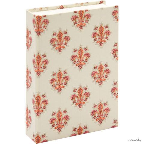 "Подарочная коробка ""Lilies"" (10,5х16х3,5 см; розовые элементы) — фото, картинка"