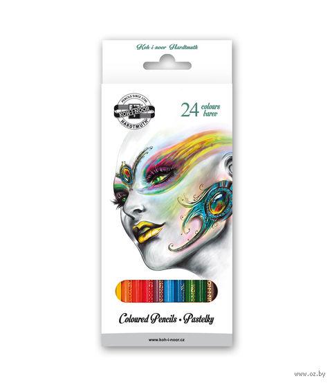 """Набор карандашей цветных """"Fantasy"""" (24 цвета)"""
