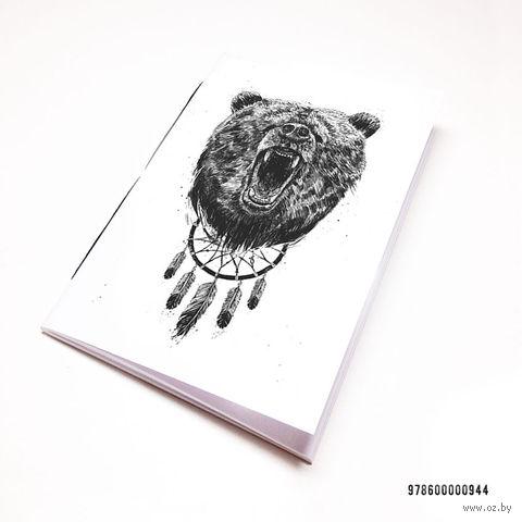 """Блокнот """"Медведь"""" (А7; арт. 944)"""